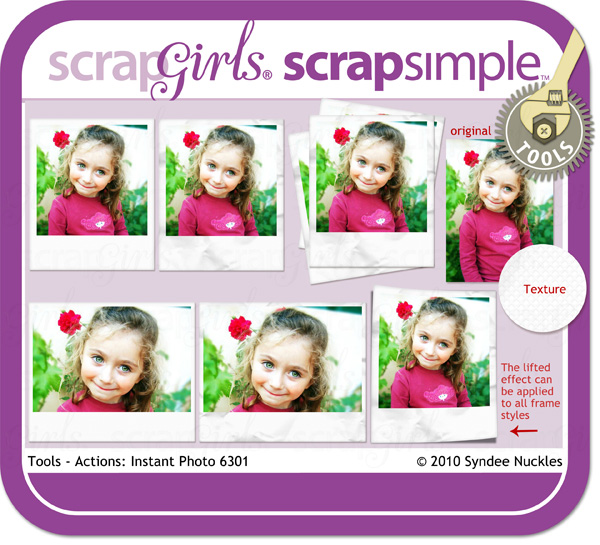 ScrapSimple Tools - Actions: Instant Photo 6301