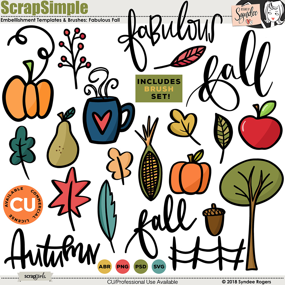 Fabulous Fall Graphics and Templates