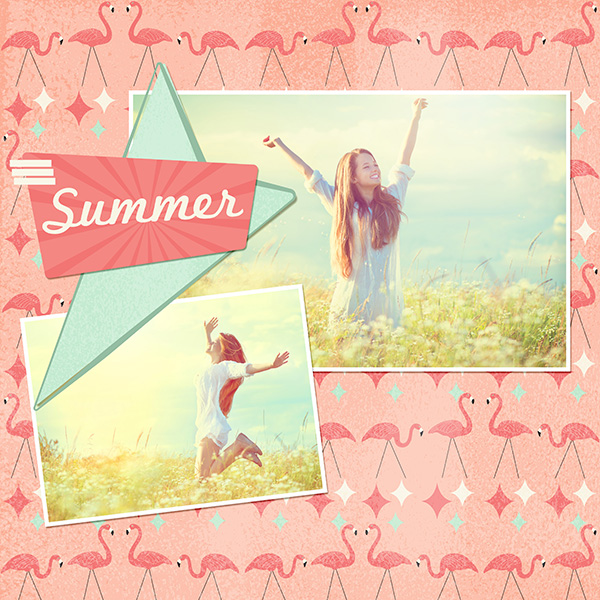 Summer Layout by Syndee