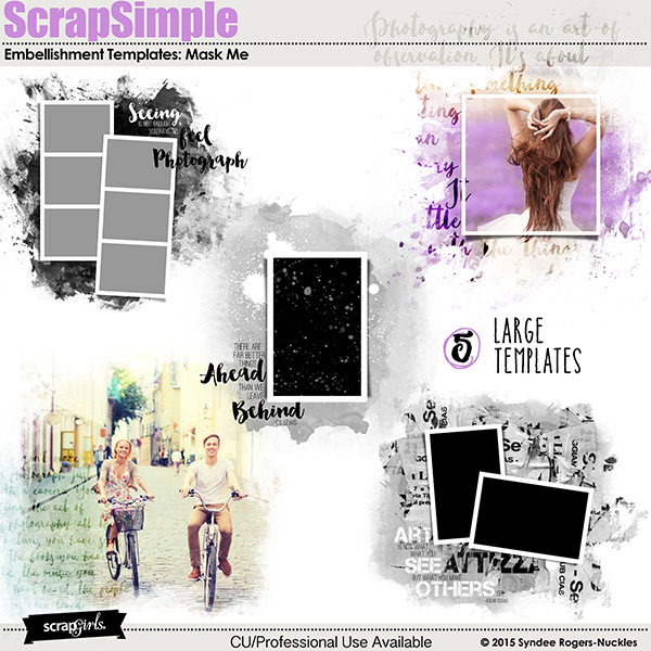 Mask Me photo mask templates