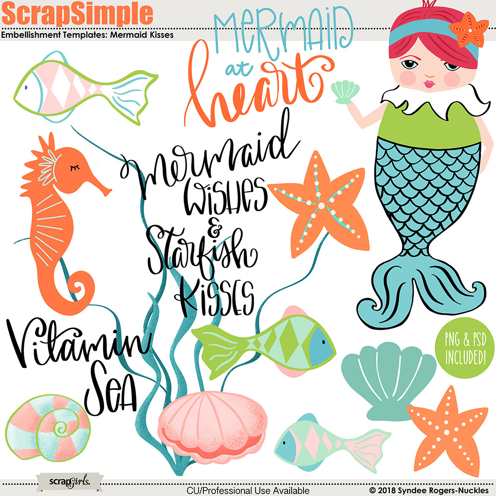 digital scrapbooking kit scrapsimple embellishment templates