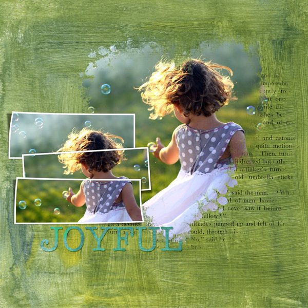 Digital Scrapbooking Layout by Syndee