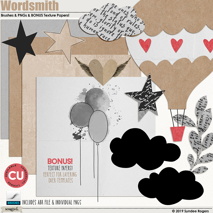 Wordsmith Templates and Textures