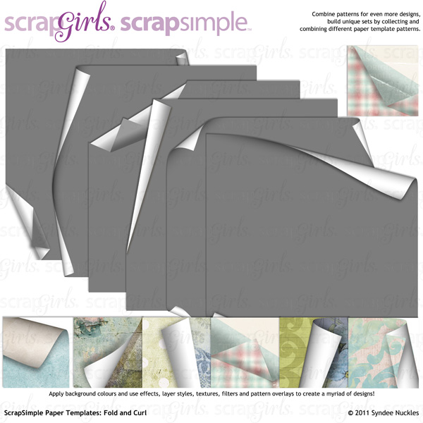 Also available: ScrapSimple Paper Templates: Fold and Curl