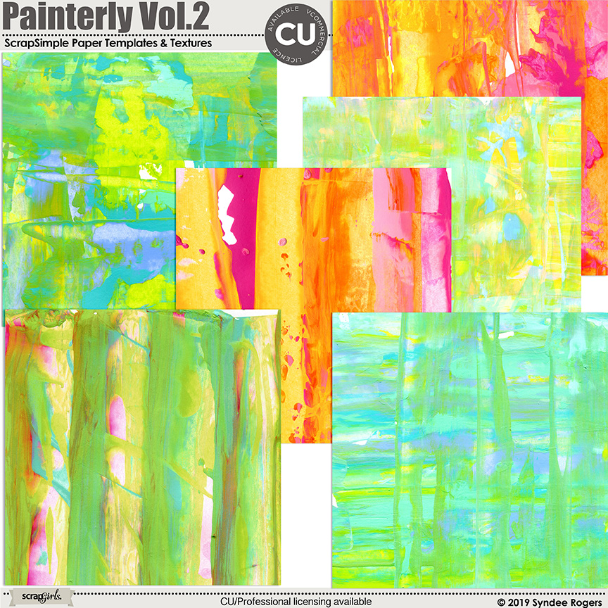 Layout created with Painterly Digital Backgrounds and Paper Template Textures Vol. 2