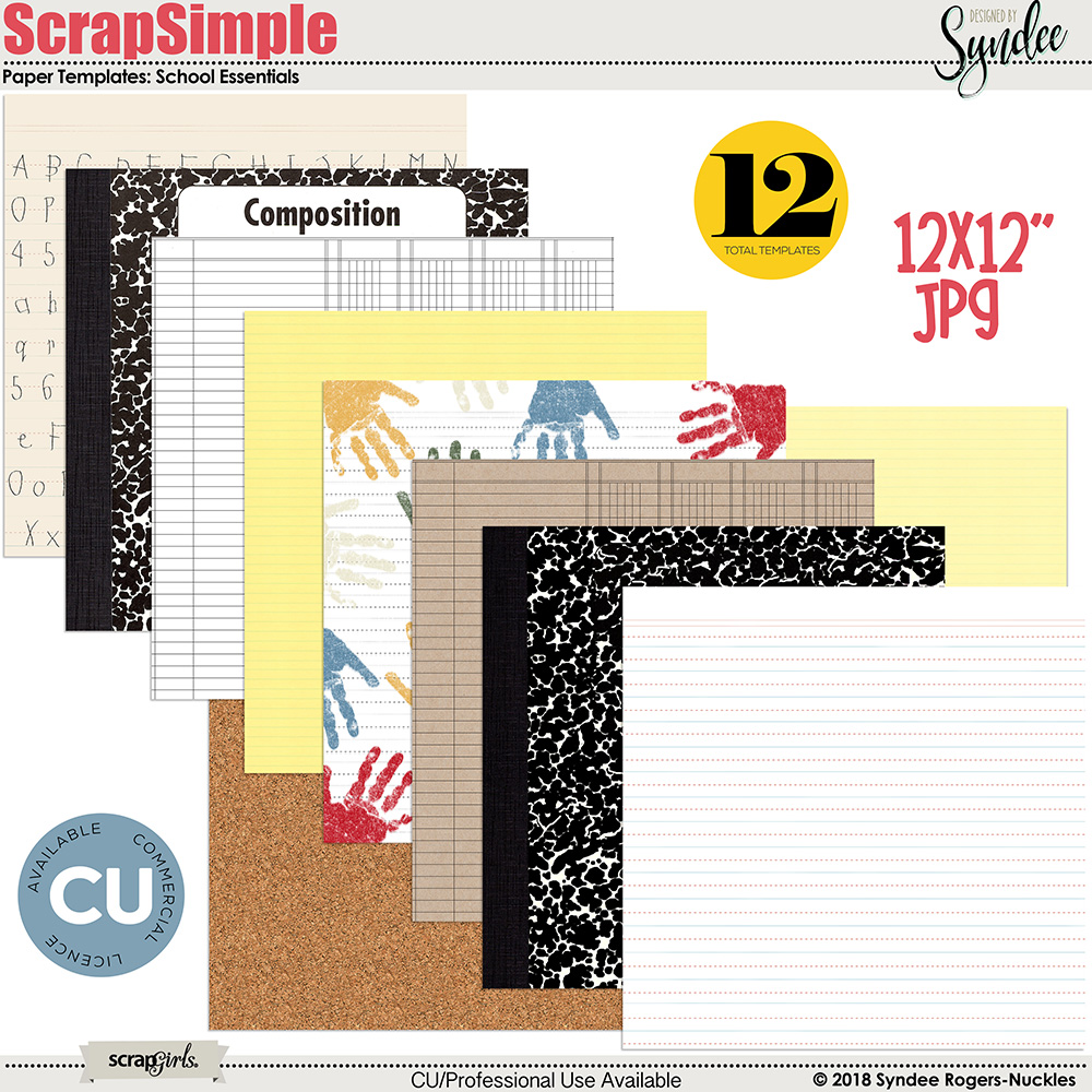 School Essentials Papers Designer Resource