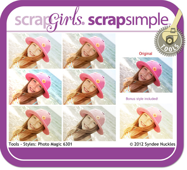ScrapSimple Tools - Styles: Photo Magic 6301
