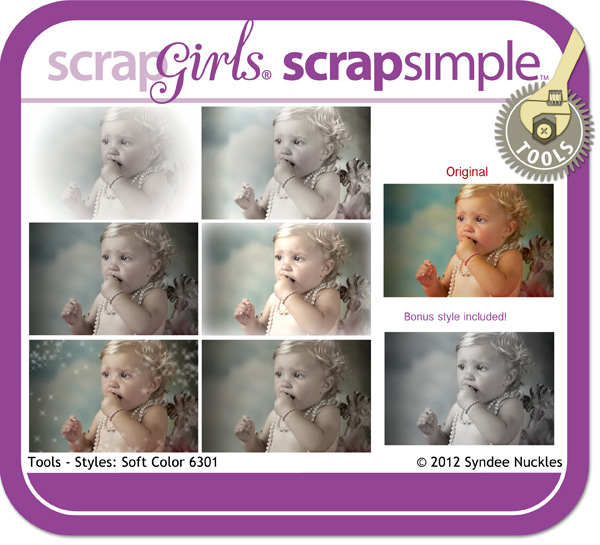 ScrapSimple Tools - Styles: Soft Color 6301