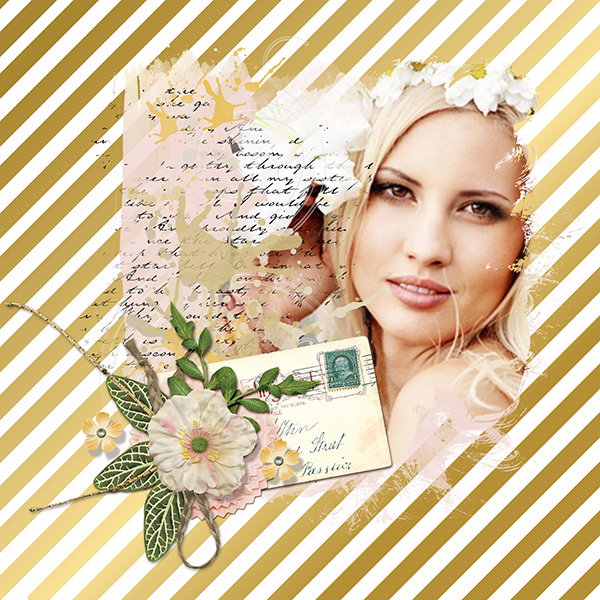 Gold Custom Styles layout by Syndee