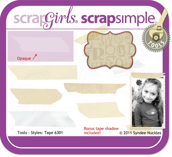 "<a href=""http://store.scrapgirls.com/p23502.php"">ScrapSimple Tools - Styles: Tape 6301</a>"