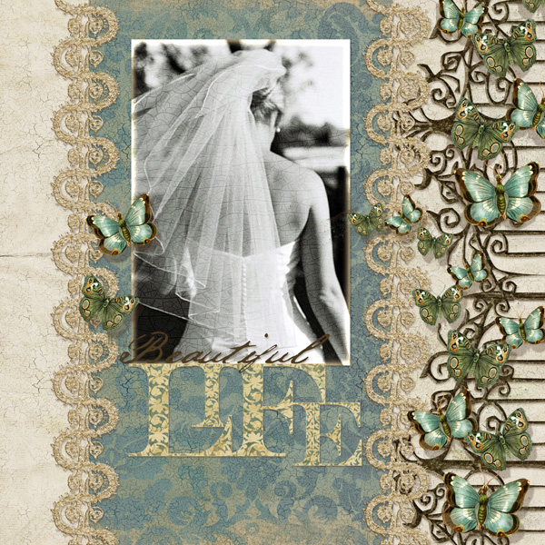 Digital scrapbooking layout by Syndee (See supply list with links below)