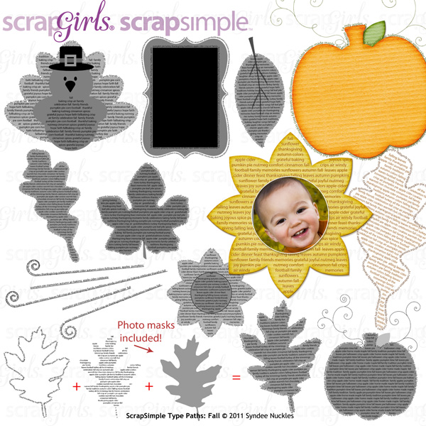 ScrapSimple Type Paths: Fall