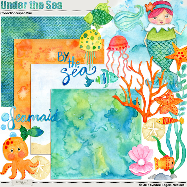 Under the Sea Digital Kit