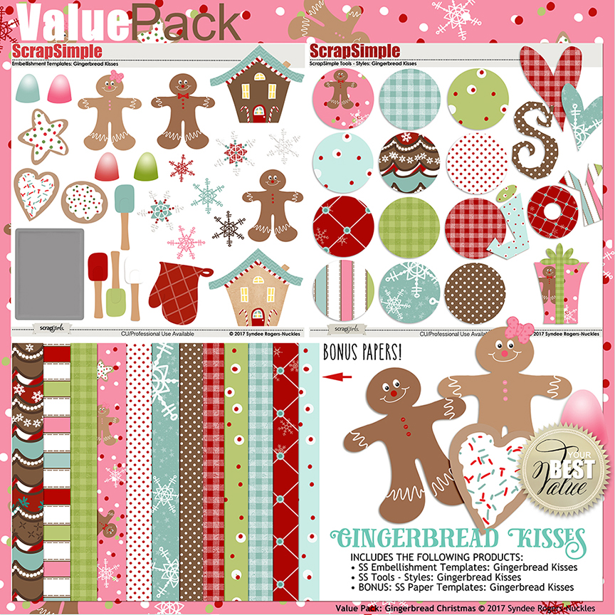 Gingerbread Kisses Christmas Bundle