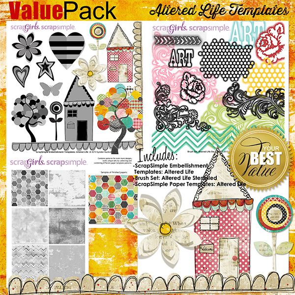 Value Pack: Altered Life Templates