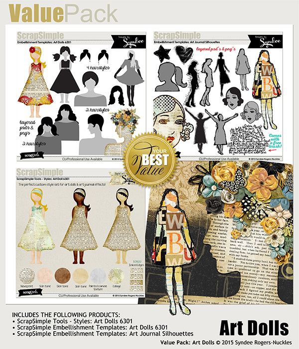 Value Pack: Art Dolls