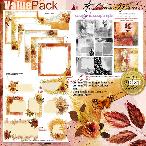 Autumn Wishes Value Pack