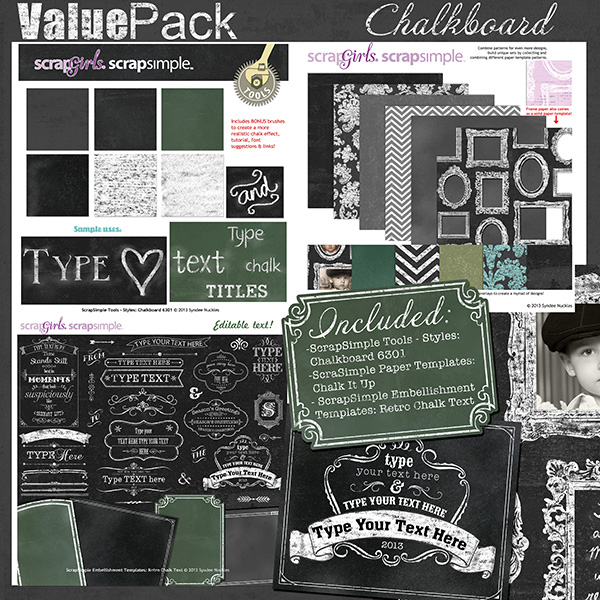 Value Pack: Chalkboard