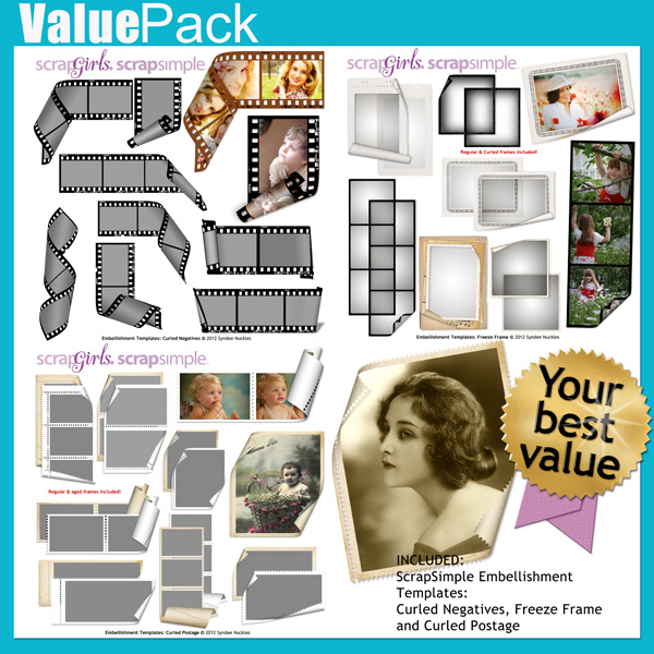 Value Pack: Curled Photos