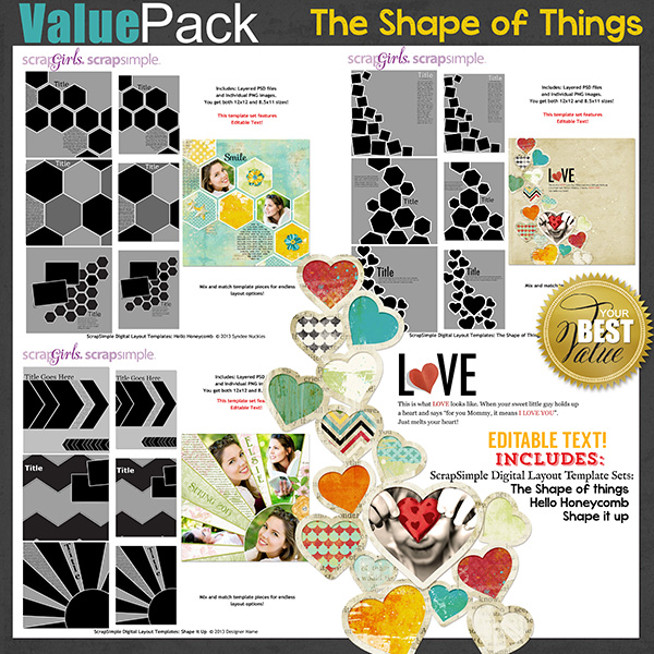 Value Pack: The Shape of Things