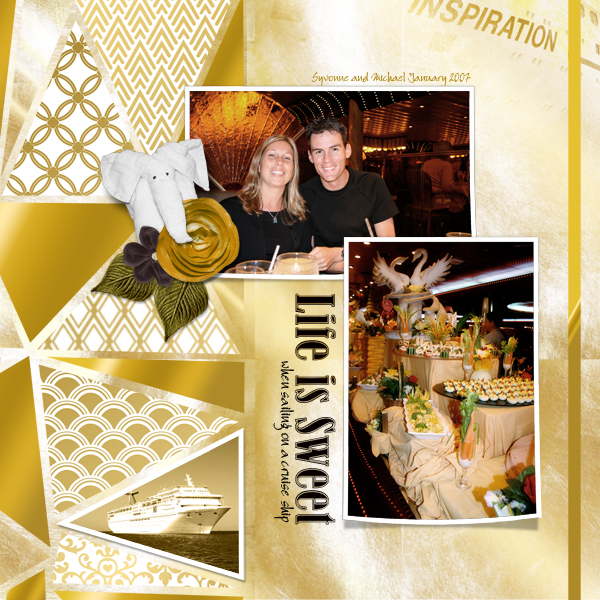 Digitial Scrapbooking Layout by Joyce Schardt