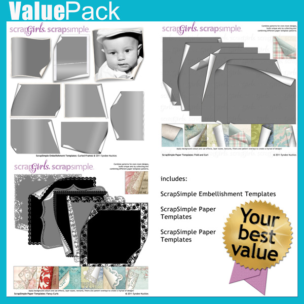 Value Pack: Fold and Curl