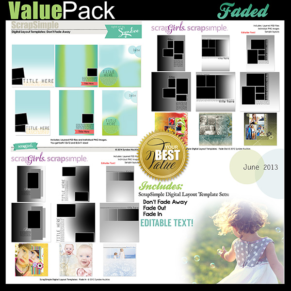 Value Pack: Faded