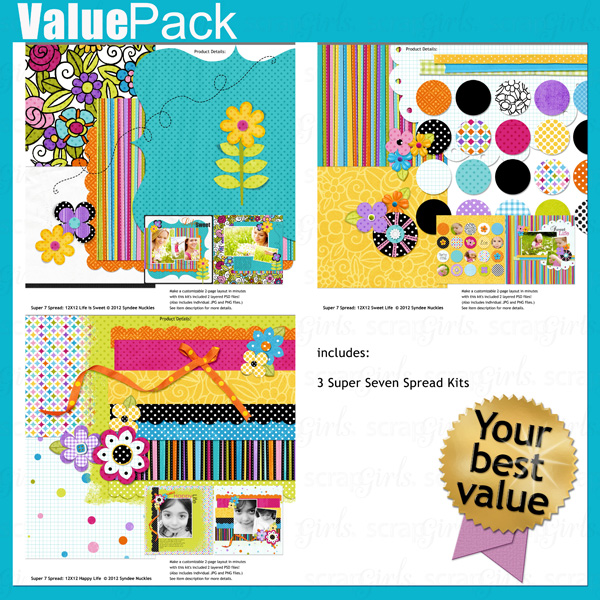 Value Pack: Life Is Sweet