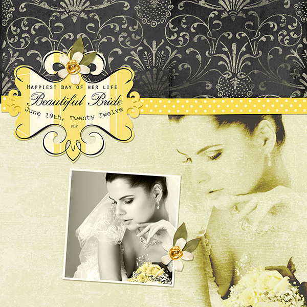 Digitial Scrapbooking Layout by Syndee