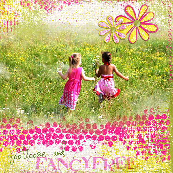 Digital scrapbook layout by Syndee (see product list below)
