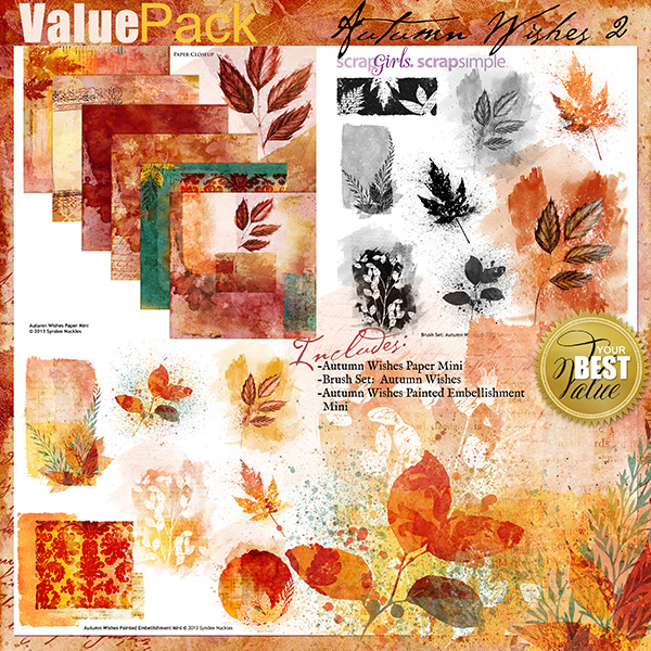 Autumn Wishes Value Pack 2