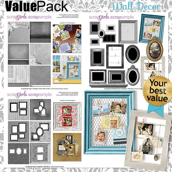 Value Pack: Wall Decor