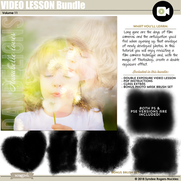 Double Exposure Video Lesson