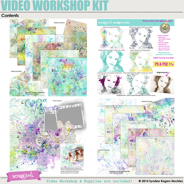Products included in this workshop kit
