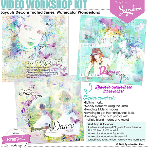 Watercolor Wonderland Video Workshop Kit