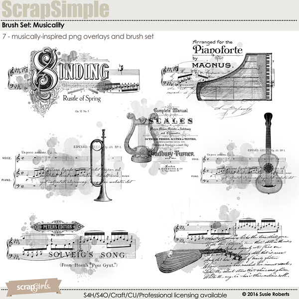Brush Set: Musicality Prev