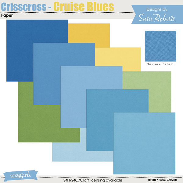 Crisscross - Cruise Blues Paper Prev
