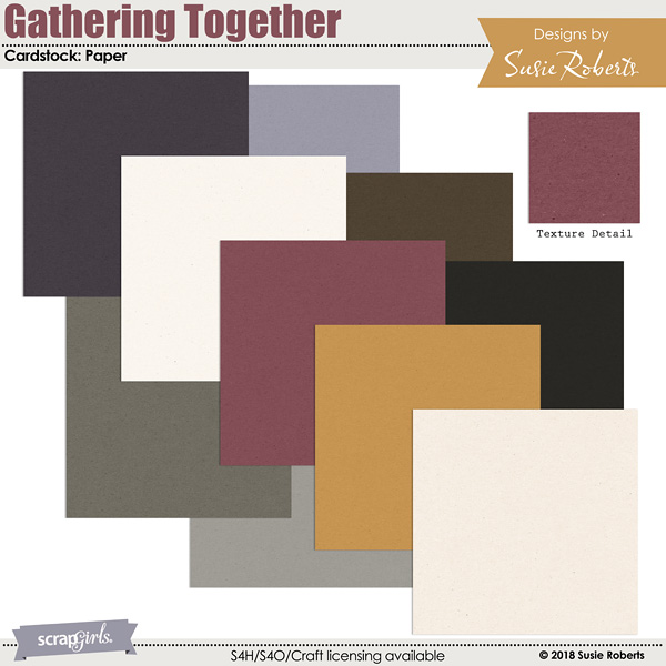 Gathering Together Cardstock Paper