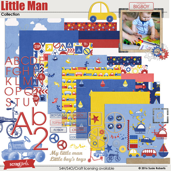 Little Man Collection Preview by Susie Roberts