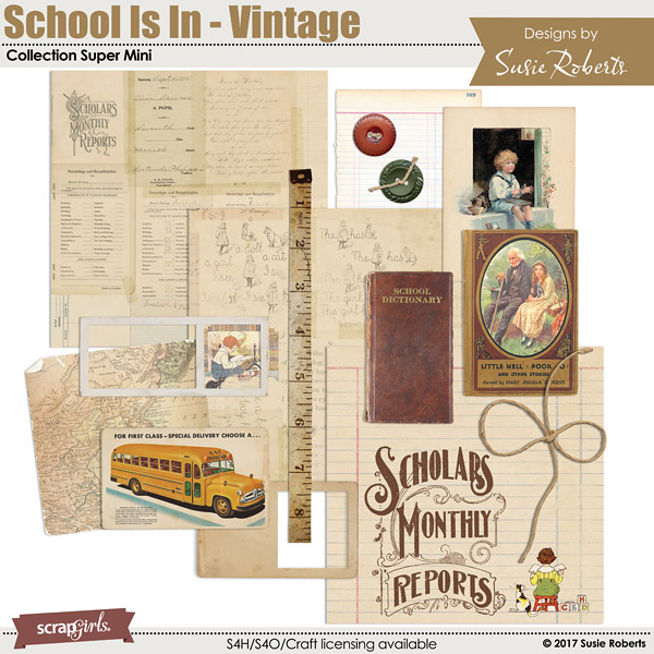 School Is In - Vintage Collection Super Mini