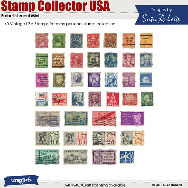 Stamp Collector USA