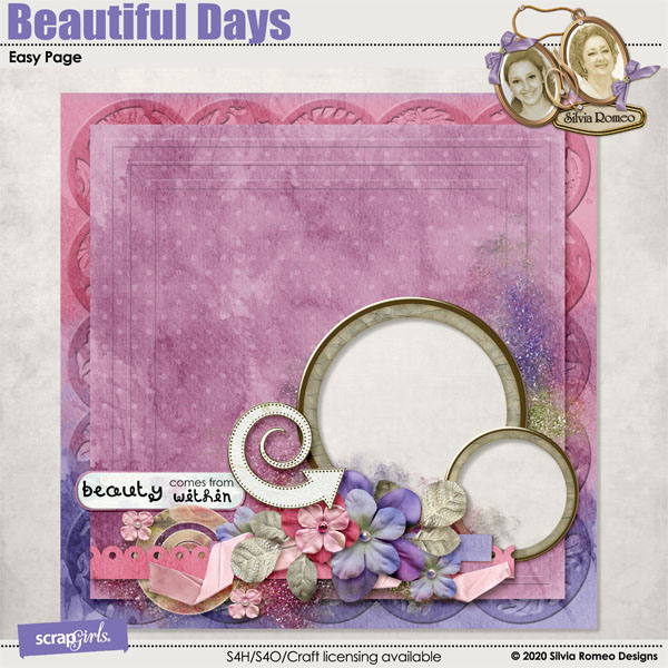 Beautiful Days Easy Page by Silvia Romeo