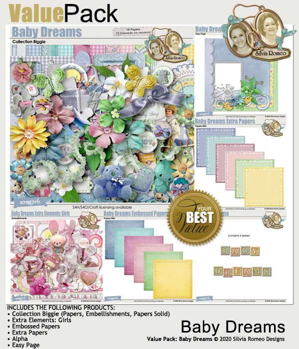 Value Pack: Baby Dreams by Silvia Romeo