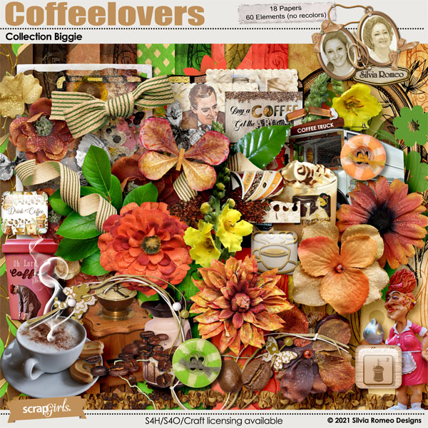 Coffeelovers Collection Biggie by Silvia Romeo