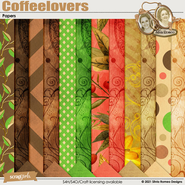 Coffeelovers Papers by Silvia Romeo