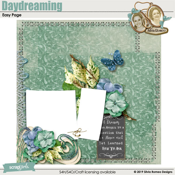 Daydreaming Easy Page