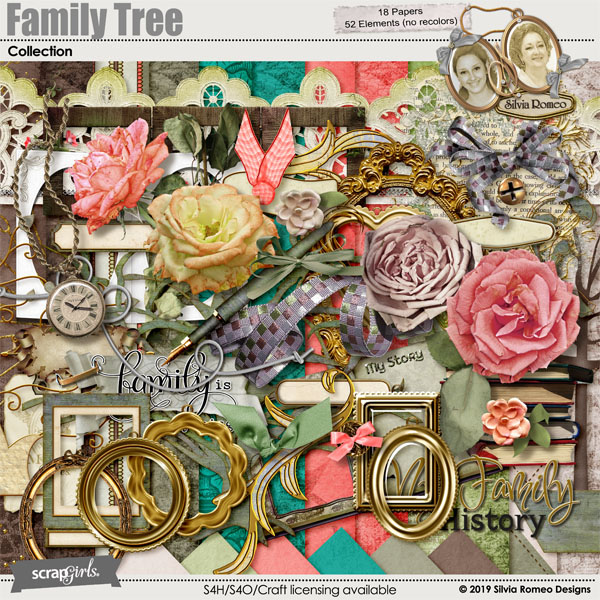 Family Tree Collection by Silvia Romeo