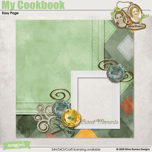 My Cookbook Easy Page by Silvia Romeo