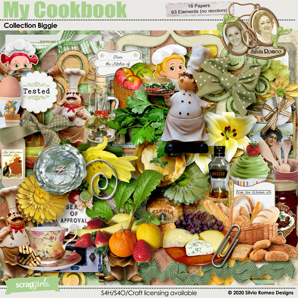 My Cookbook Collection by Silvia Romeo