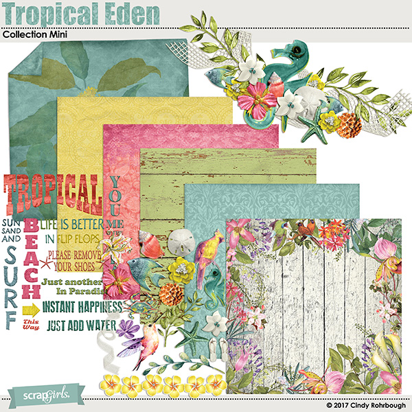 Tropical Eden Collection Mini by Cindy Rohrbough